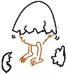 cracked egg